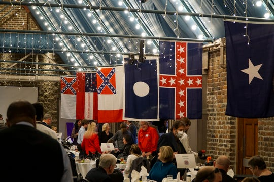 Knoxville's Sons of Confederate Veterans Longstreet-Zollicoffer Camp 87 held their 26th annual Lee-Jackson birthday celebration dinner at the Foundry at World's Fair Park on Saturday, Jan. 26.