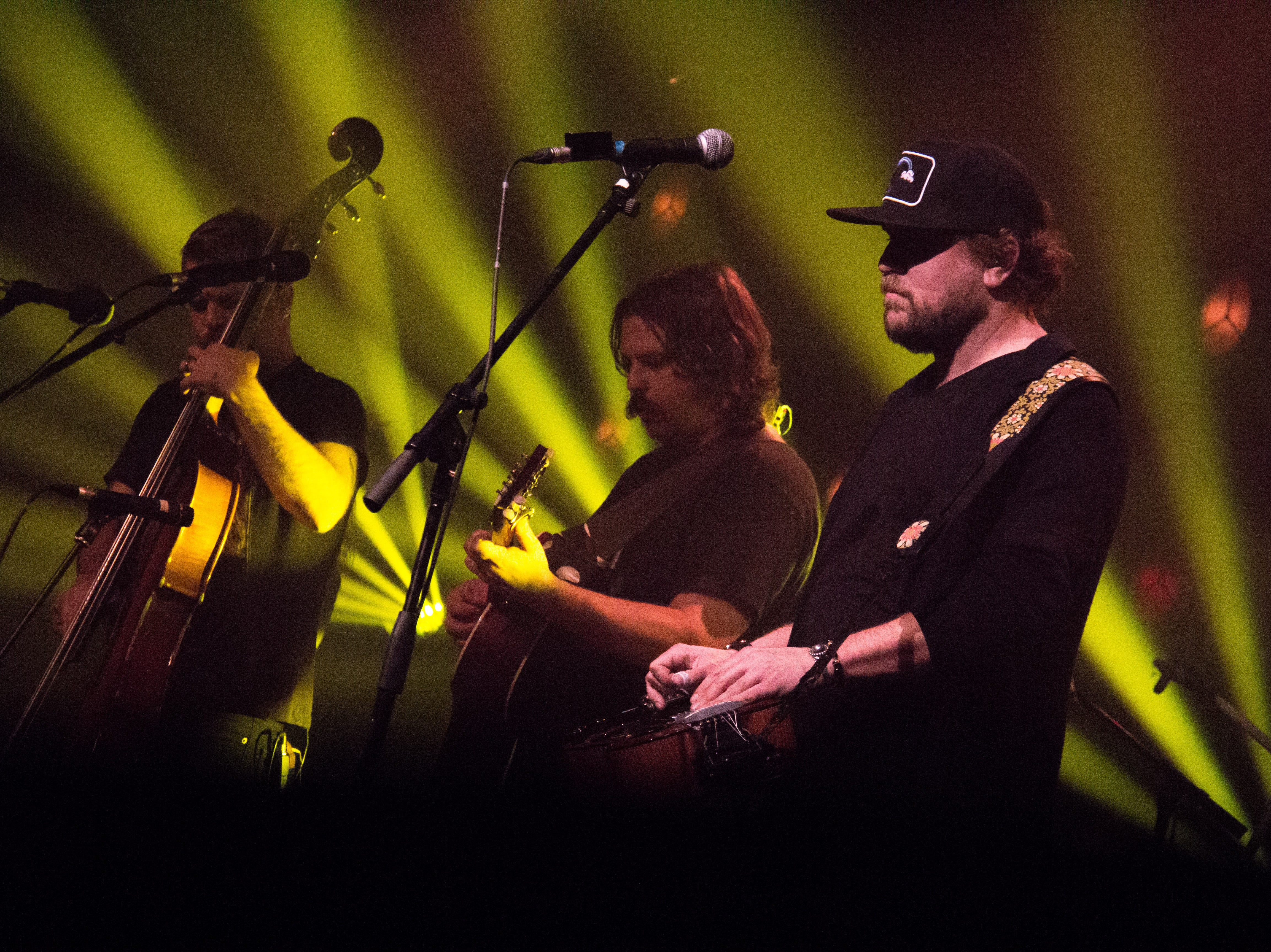 Greensky Bluegrass headlines a show at the Mill and Mine in Knoxville on Jan. 24, 2019.