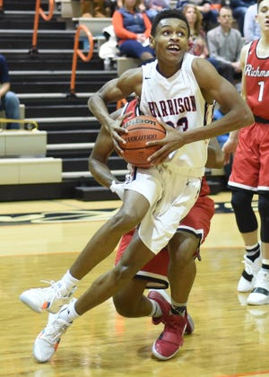DeAndre Alsup scored 15 points in Harrison's win over West Lafayette.