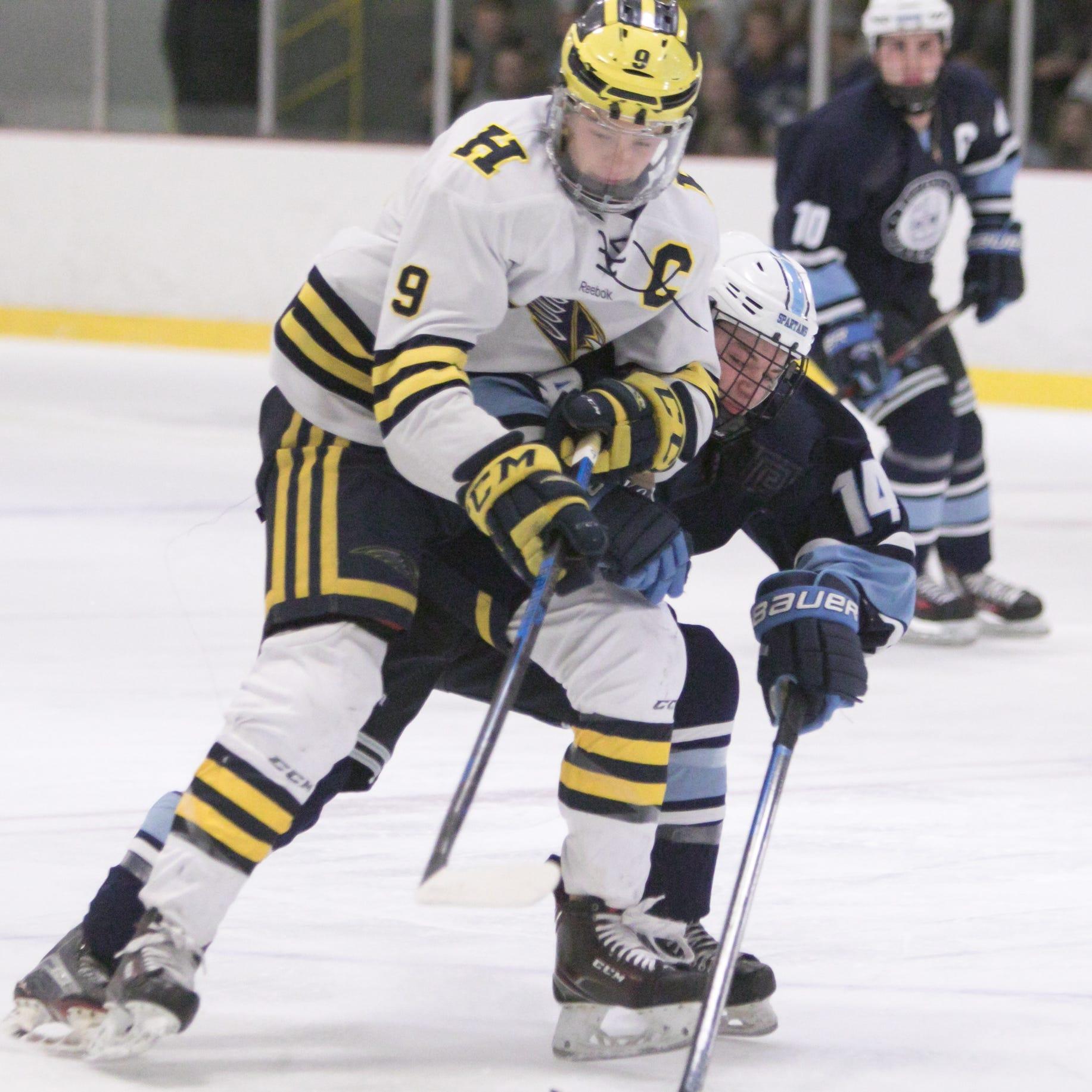 And your Mr. Hockey winner is ... Hartland's Joey Larson