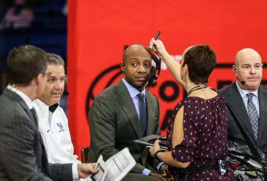 ESPN analyst Jay Williams