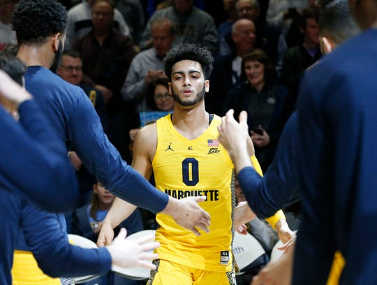 Marquette junior guard Markus Howard is averaging 24.6 points per game.
