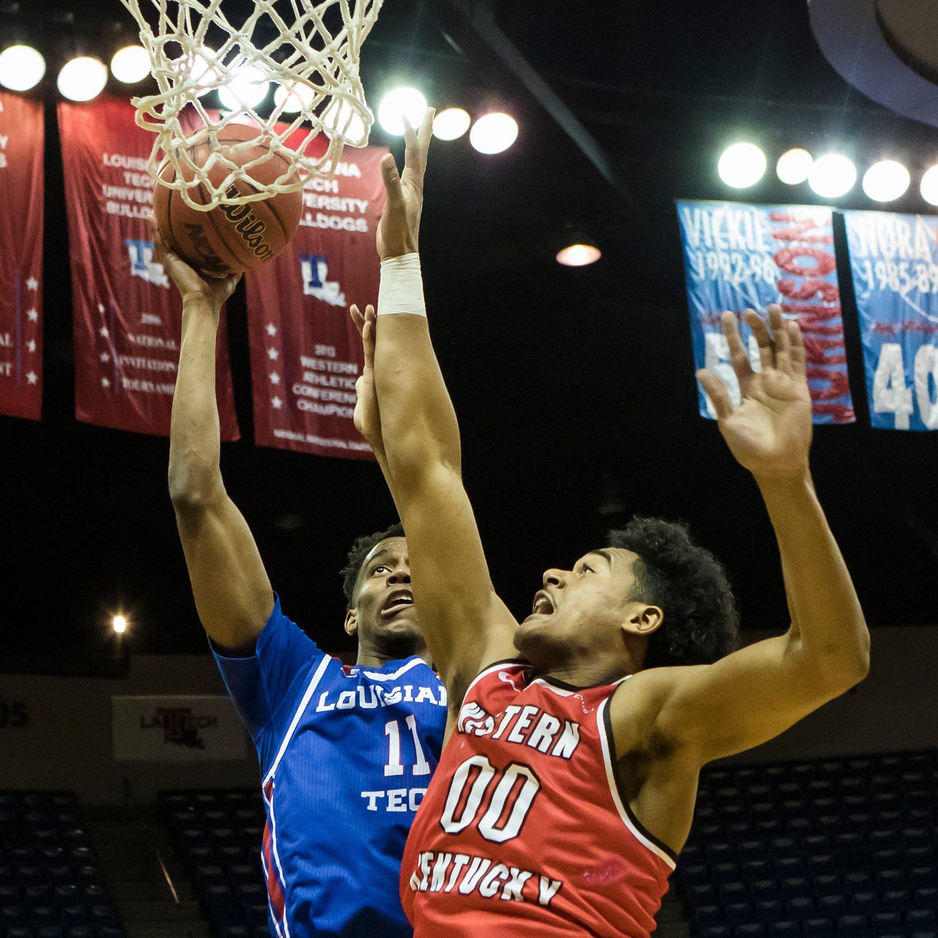 Louisiana Tech rallies to turn back Western Kentucky basketball 62-50