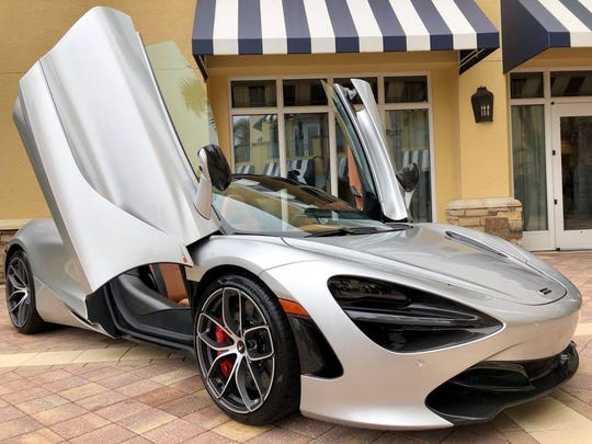 One of Naples Winter Wine Festival auction lots is a 2019 McLaren 720S Spider.