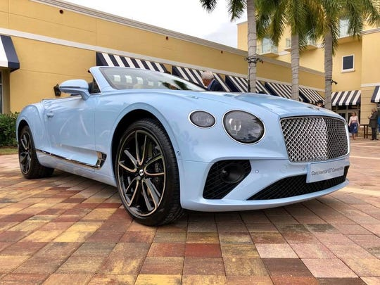 One of 2019 Naples Wine Festival auction lots is one of the first Bentley Motors' 2020 Continental GT Convertibles in North America.