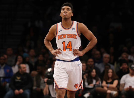 Allonzo Trier was waived by the Knicks on Friday.