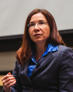 Katharine Hayhoe, the co-director of the Climate Science Center at Texas Tech University, will give a presentation about the fractured conversation surrounding climate change during the latest in a series of seminars hosted by New Mexico State University. The event is set for 6:30 p.m. on Feb. 6, inside the Domenici Hall in the Yates Theatre, Room 106.