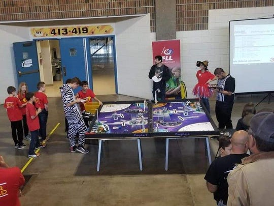 Over 500 students participated in the STEM event at Alamogordo High School Jan. 12, 2019.