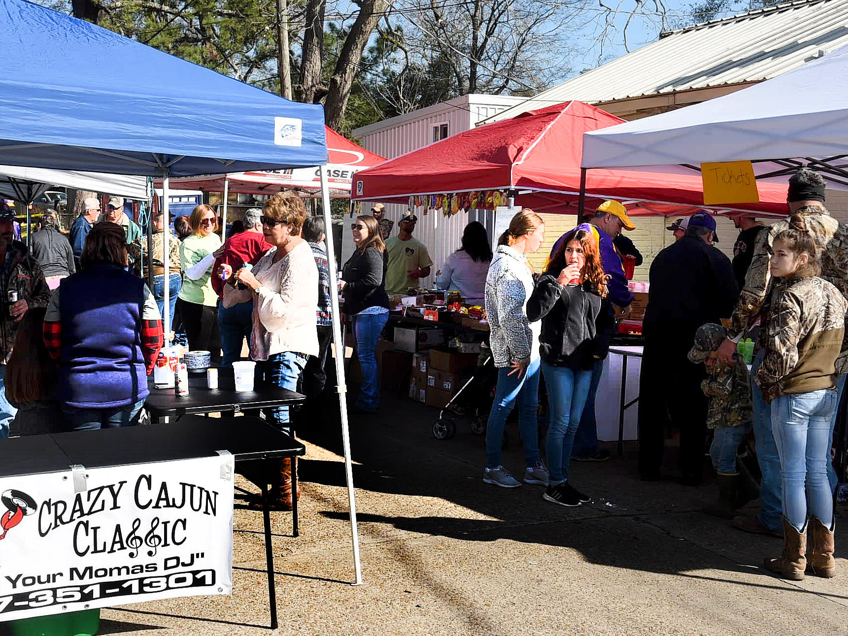 13th annual Gumbo Cook-Off held Saturday in downtown Opelousas near Frank's Po Boys. This year benefitting 14 . year old Kylie Coulon and family.