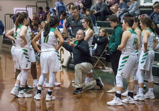 Walton vs Catholic girls basketball game at Catholic High School in Pensacola on Friday, January 25, 2019.