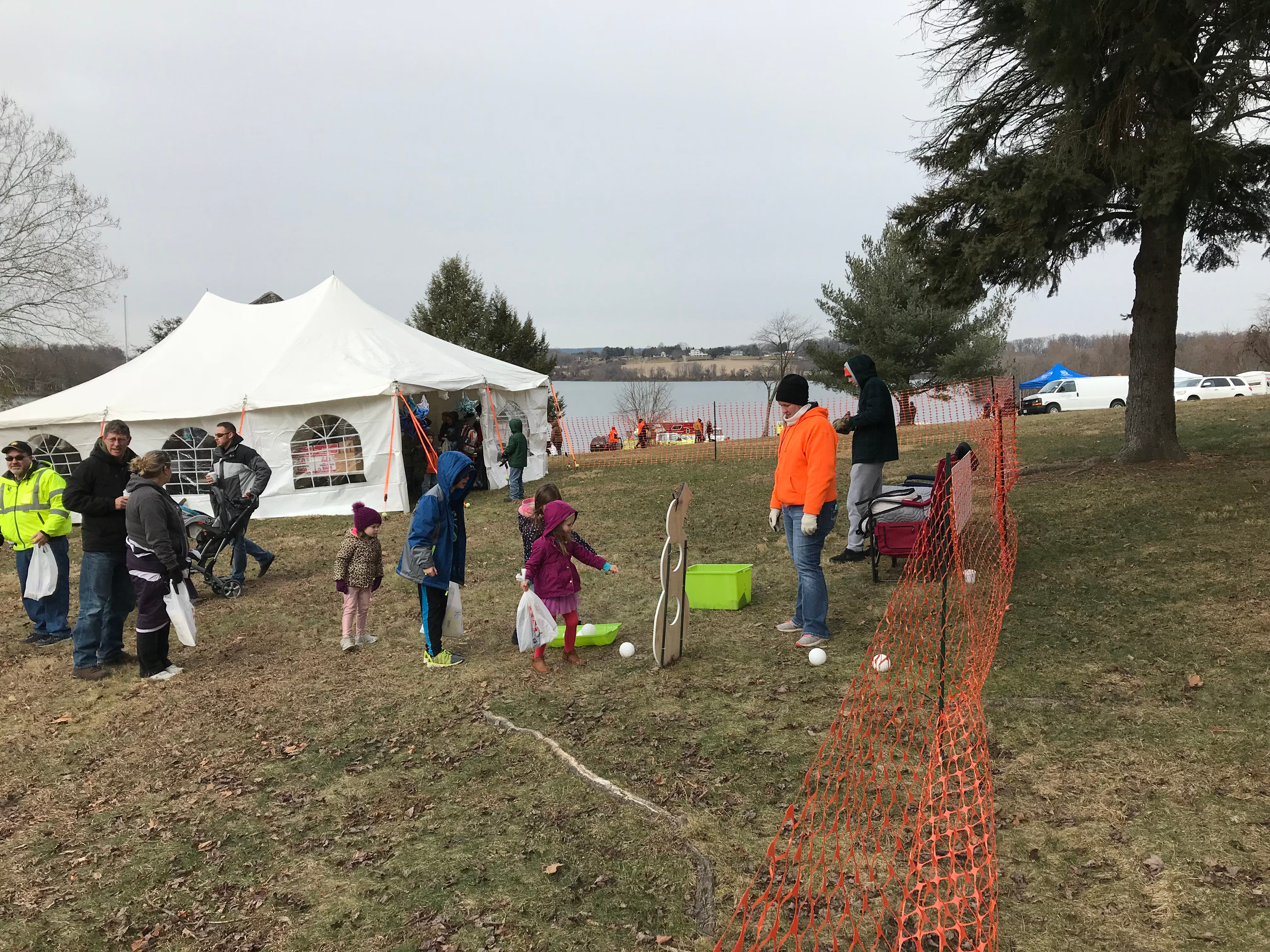 People enjoy the festivities at the annual Codorus Winter Festival at Codorus State Park on January 26, 2019.