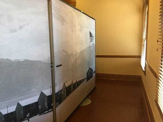 """Part of the Smithsonian's """"Righting a Wrong"""" display in the Arizona Capitol Museum in Phoenix on Jan. 23, 2019."""