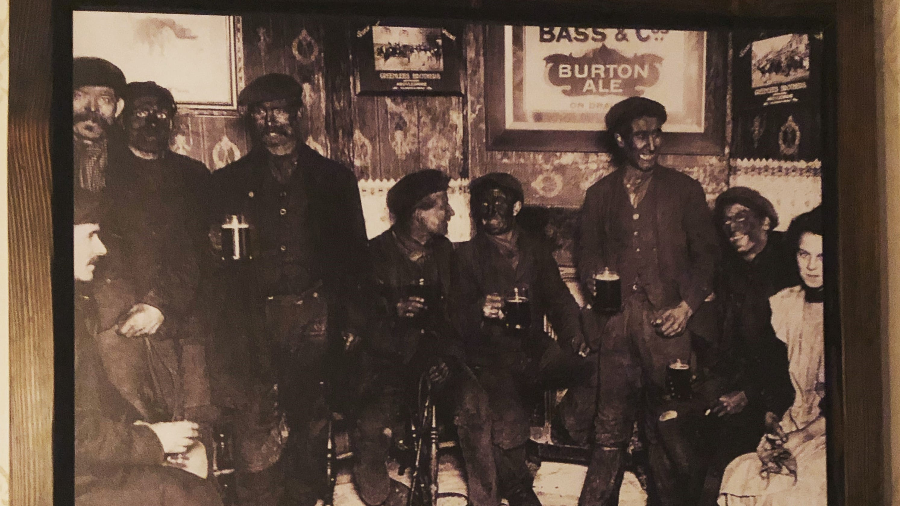 Image result for coal miners blackface