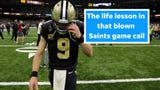 The blown call during that New Orleans Saints game is a metaphor for our lives, columnist EJ Montini says.