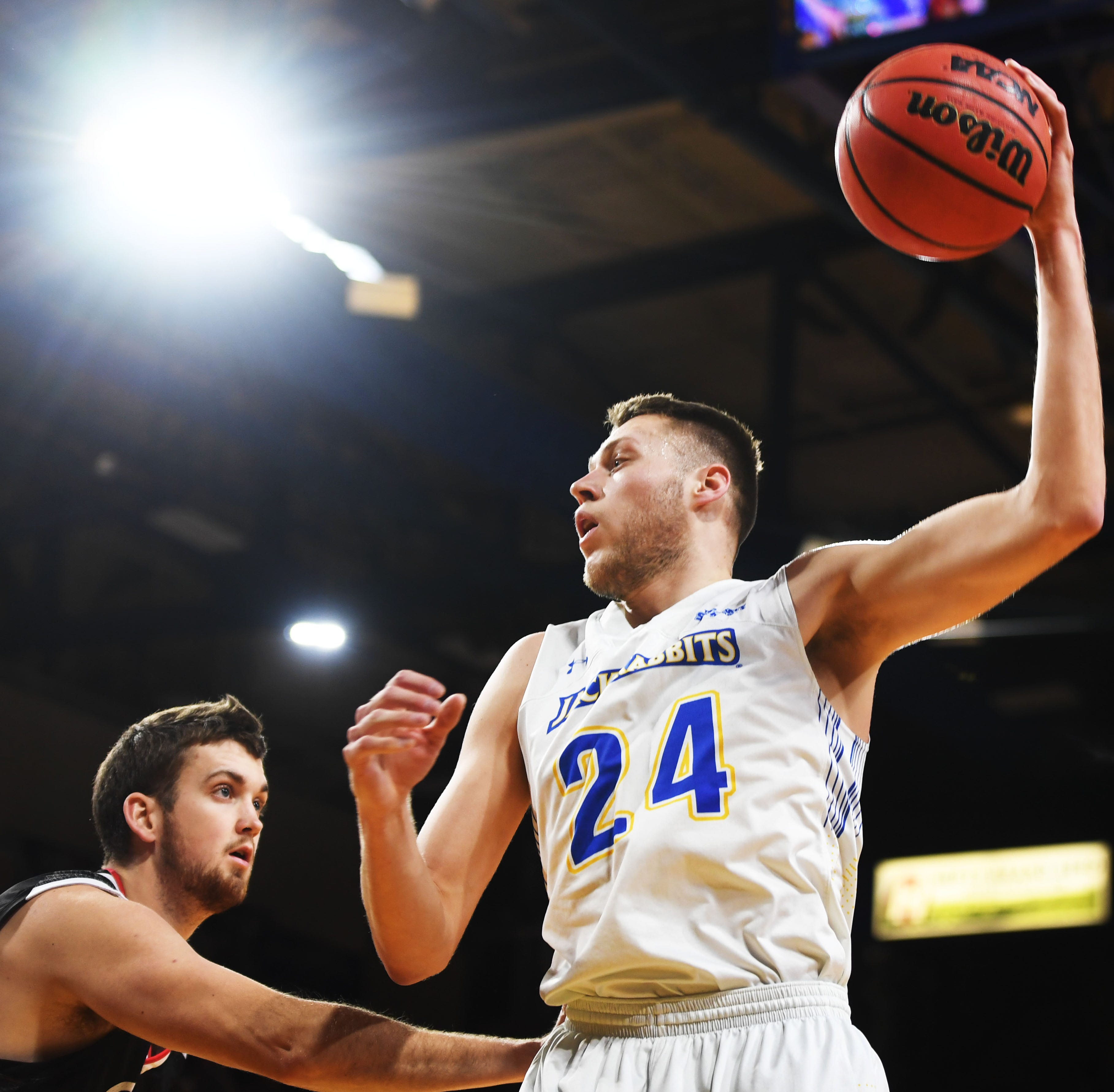 Mike Daum, South Dakota State embrace NIT opportunity