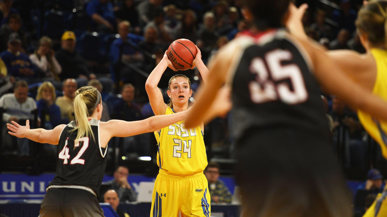 Photos: SDSU vs. Omaha women's basketball