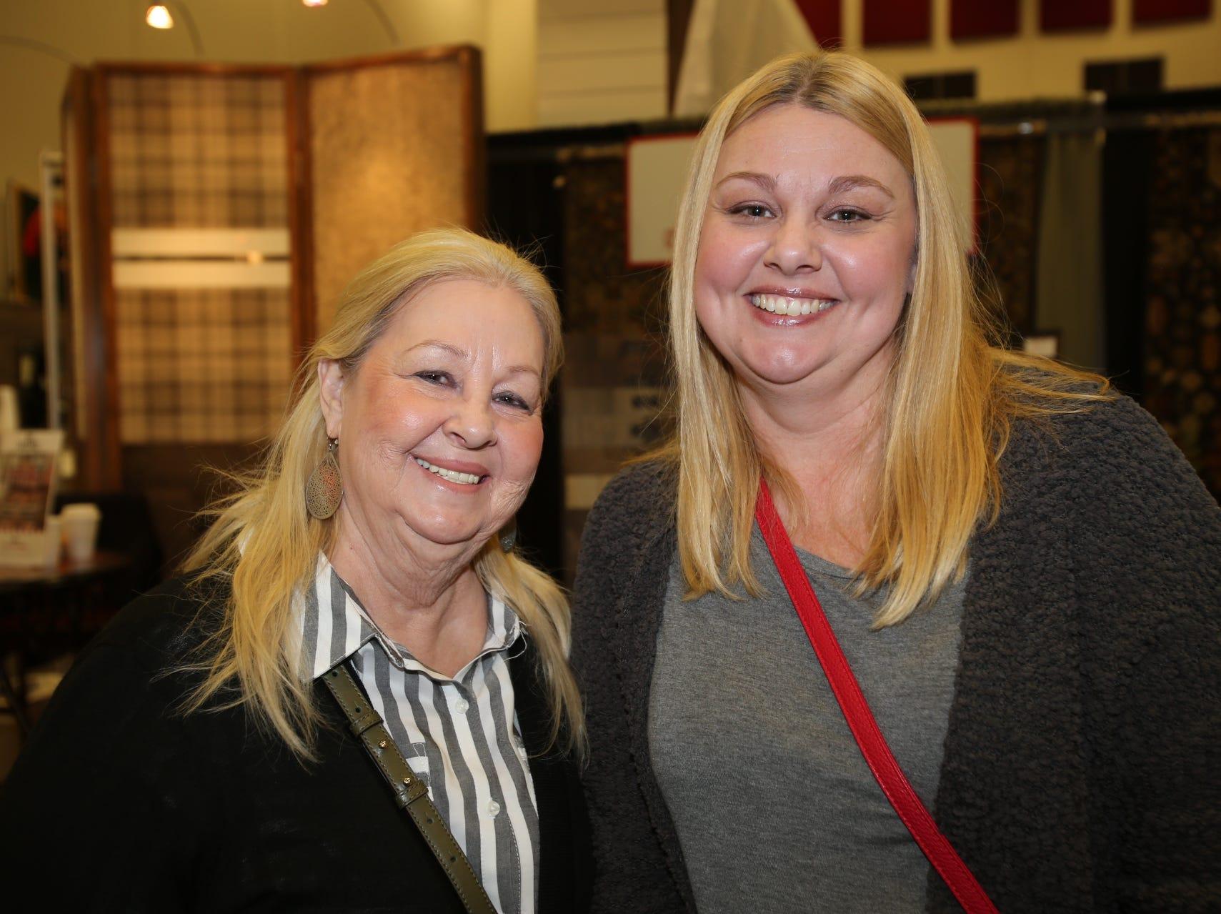 Sharon Willoughby and Kim Robinson