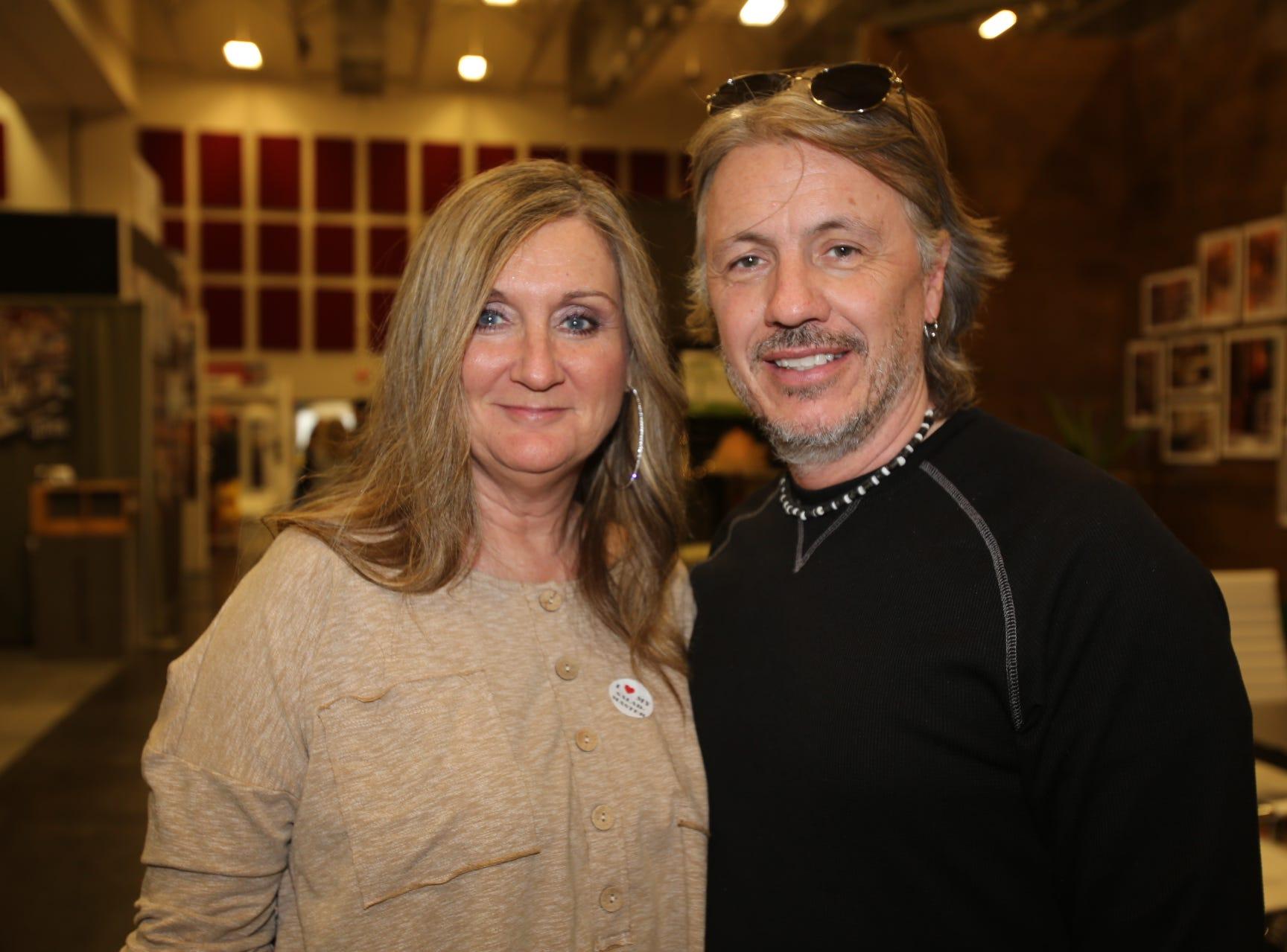 Lori and Michael Leach