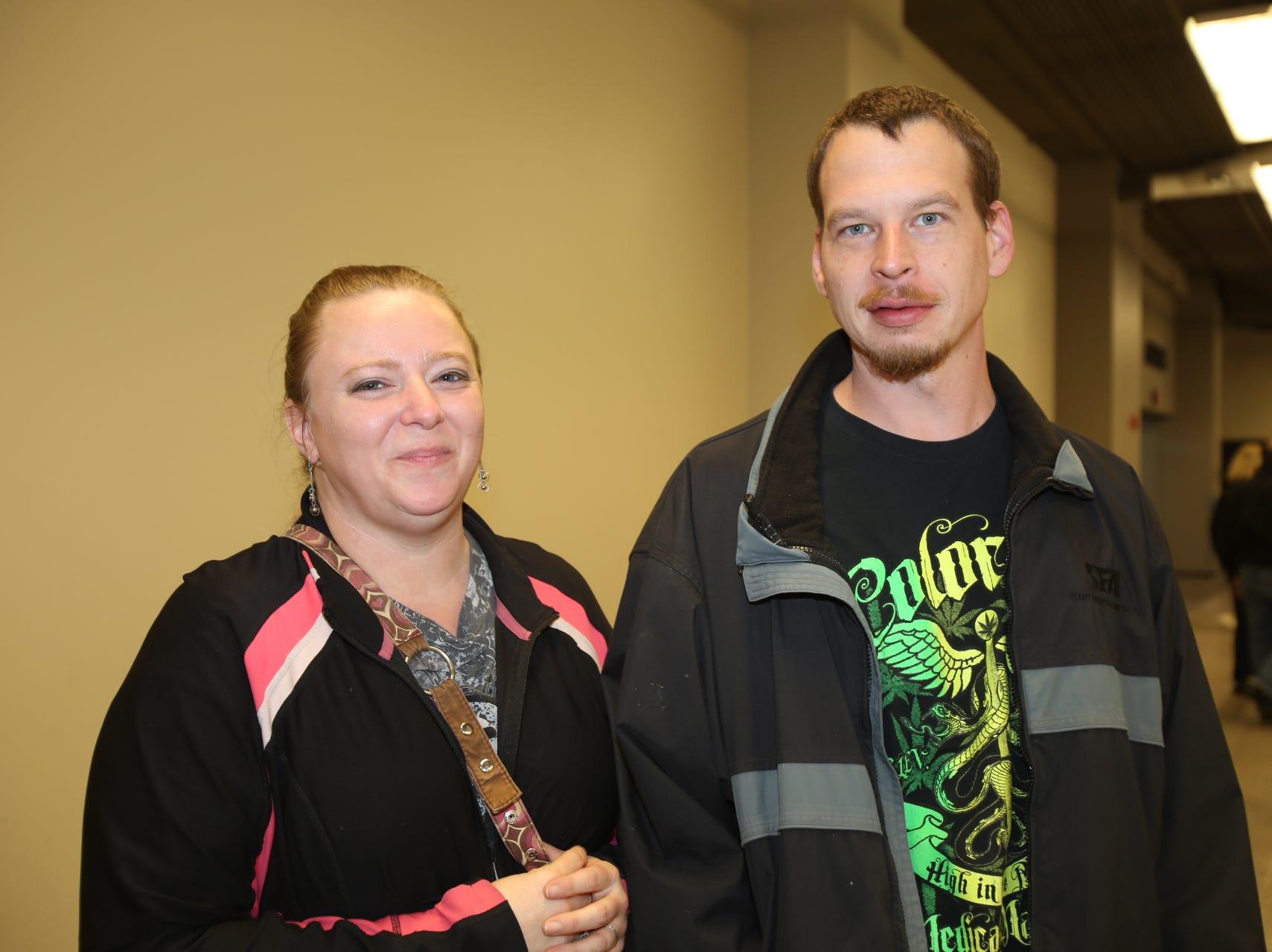 Heidi and Tim Sanders