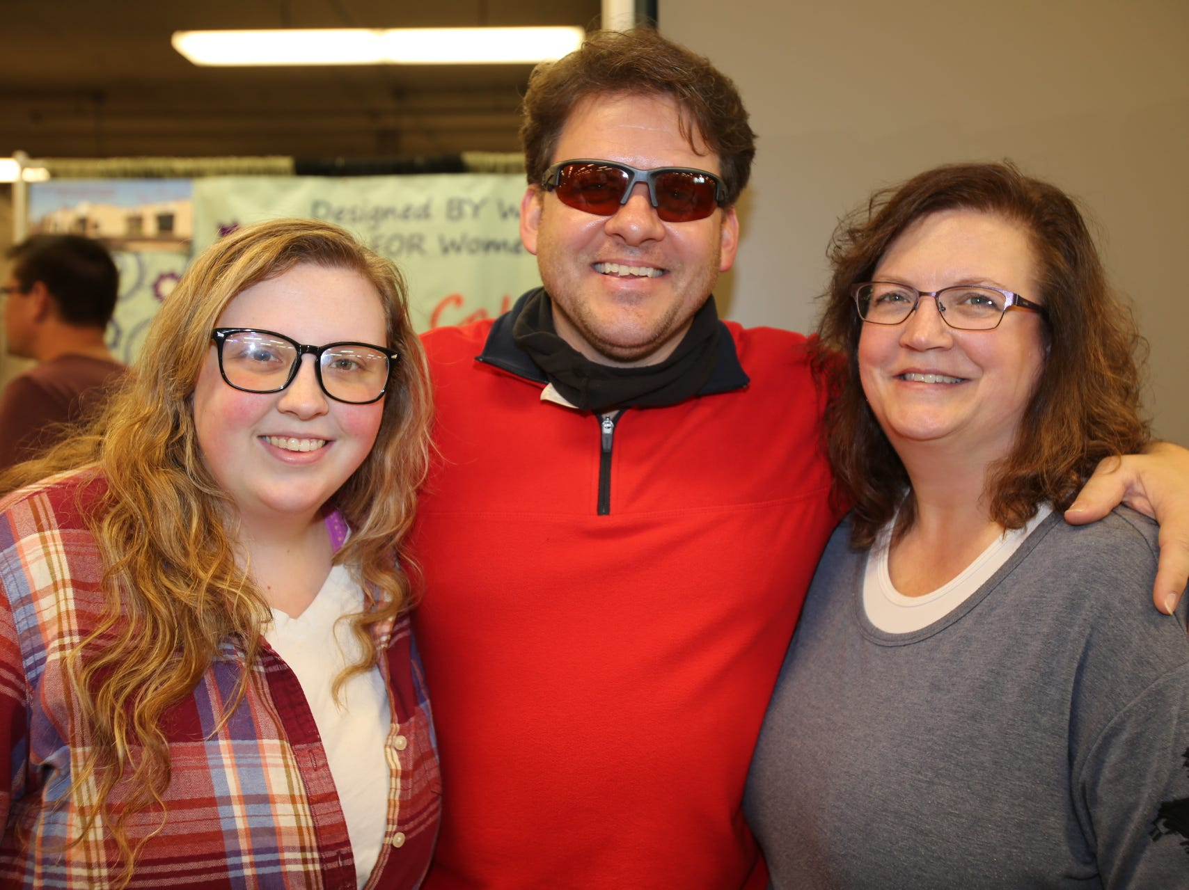 Abigail, Chris, and April McLaughlin