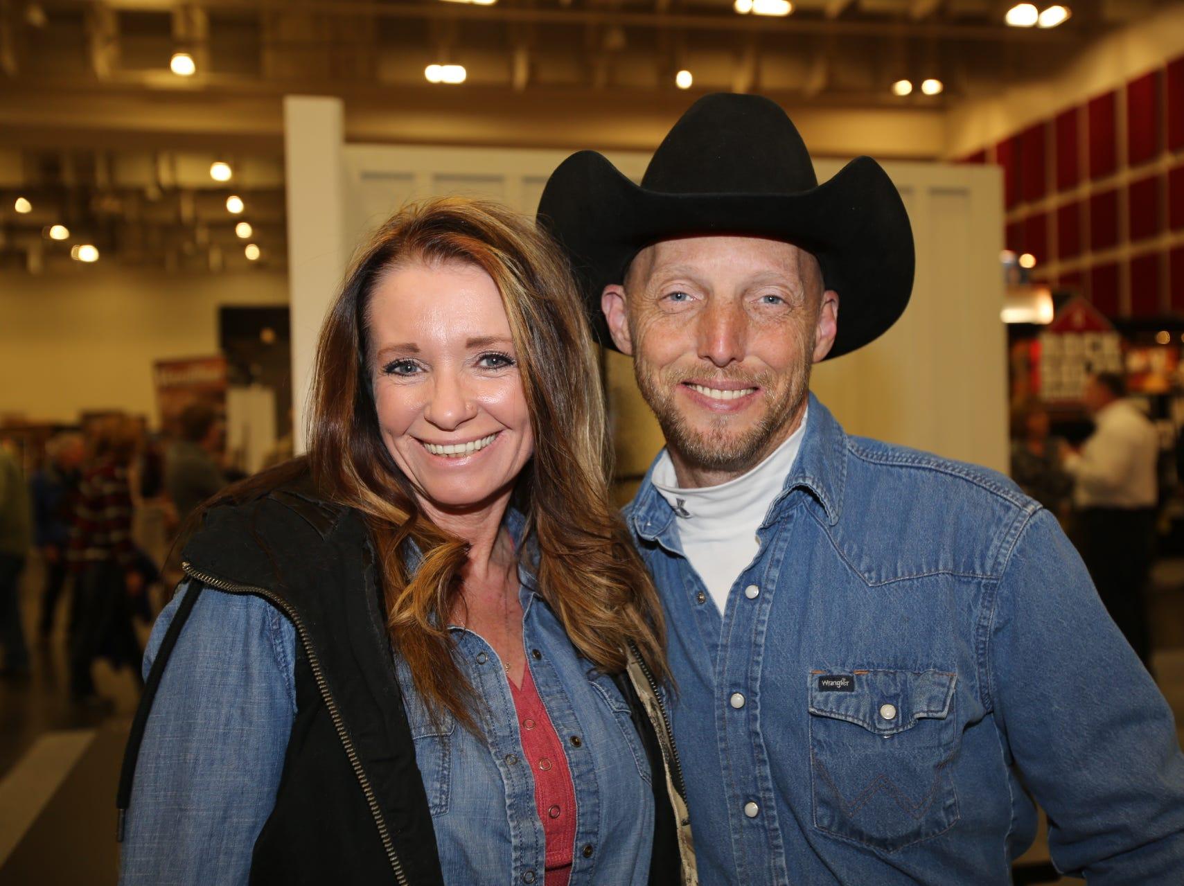 Liz Cooper and Larry Skidmore