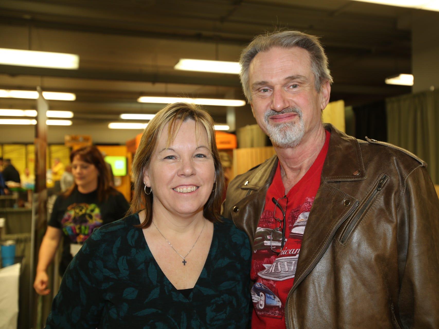 Cindy Robertson and John Herd