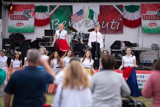 The 12th annual Taste of Little Italy festival at Tradition included Italian food, live music, cooking demonstrations, wine seminars, a bocce pavilion, festival rides and games on Saturday, Jan. 26, 2019, in Port St. Lucie. The festival continues 11 a.m. to 8 p.m. Sunday.