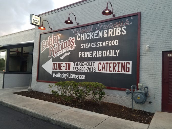 The former Cody's Steakhouse on U.S. 1 in Stuart has become Bobby Rubino's Place for Ribs.