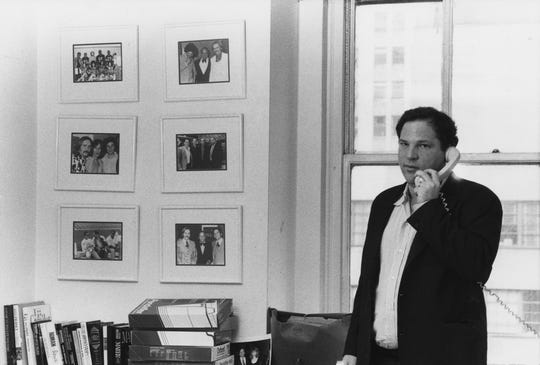 """A photo of a young Harvey Weinstein, featured in new documentary """"Untouchable."""""""