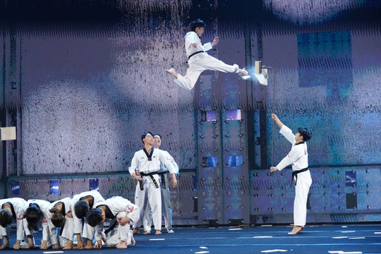 South Korean Taekwondo troupe, Kukkiwon, takes flight on the new CBS variety competition series, 'The World's Best,' which premieres Feb. 3 after Super Bowl LIII.