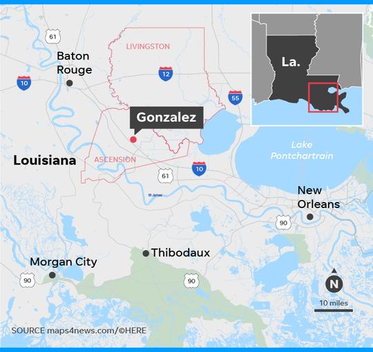Louisiana shootings: 5 dead