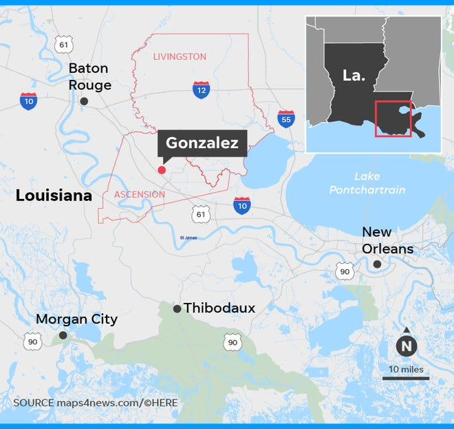 Louisiana Shootings 5 Dead Suspect Dakota Theriot Still At Large