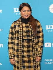"Mindy Kaling arrives in Park City, Utah, for the Sundance premiere of ""Late Night."""