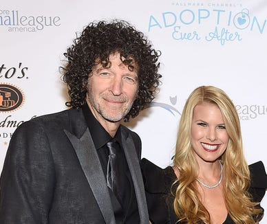 Howard and Beth Stern are not having marital problems, Beth told Ellen DeGeneres.