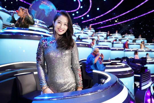 Kathy Wu of China is one of the 50 international experts who make up the Wall of the World on CBS's 'The World's Best.'
