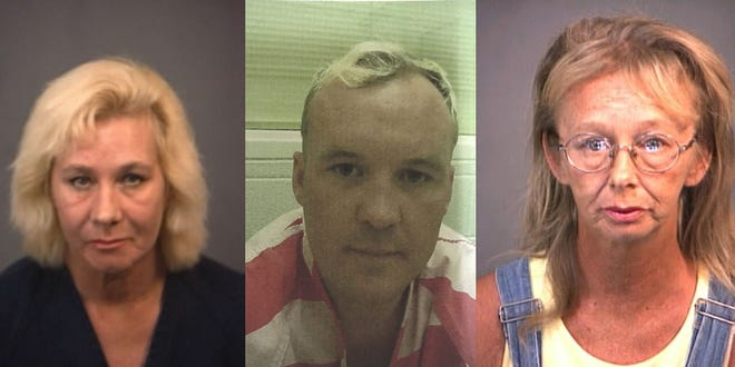 From left: Rita Akridge, Bruce Foley, Judy  Foley