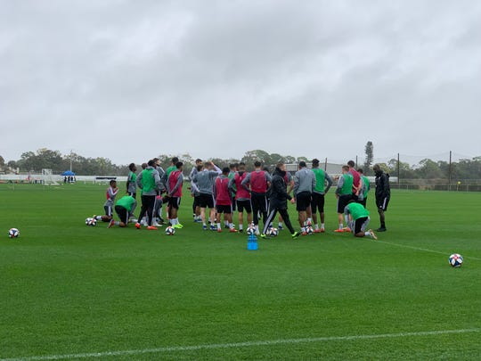 FC Cincinnati started a two-week training period at IMG Academy on Sunday, Jan. 27 in Bradenton, Florida.