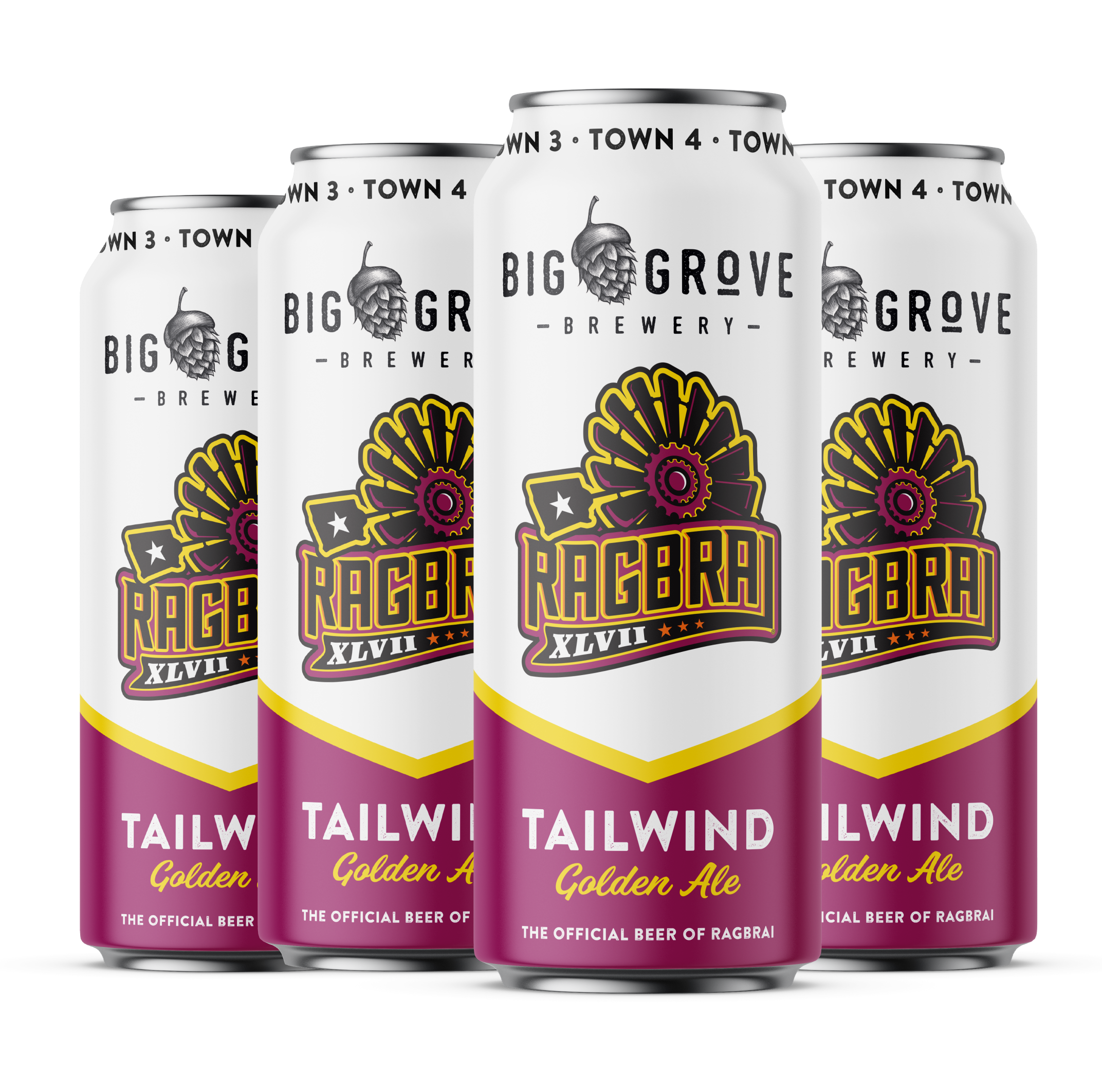 RAGBRAI has a new official beer and it's from a local brewery