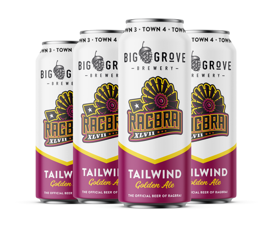 Big Grove Brewery is the official RAGBRAI beer for 2019.