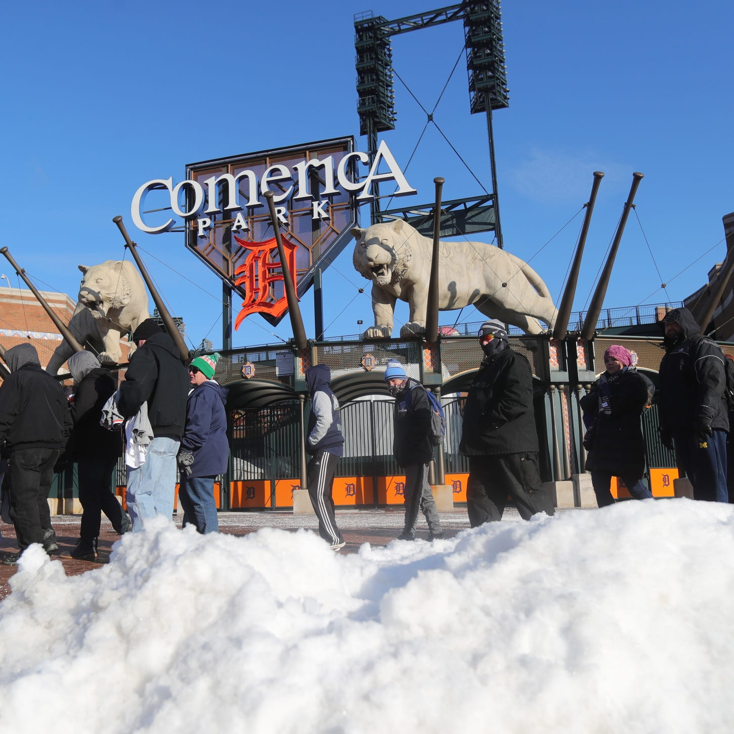 It could snow on Detroit Tigers' Opening Day because, you know, Michigan
