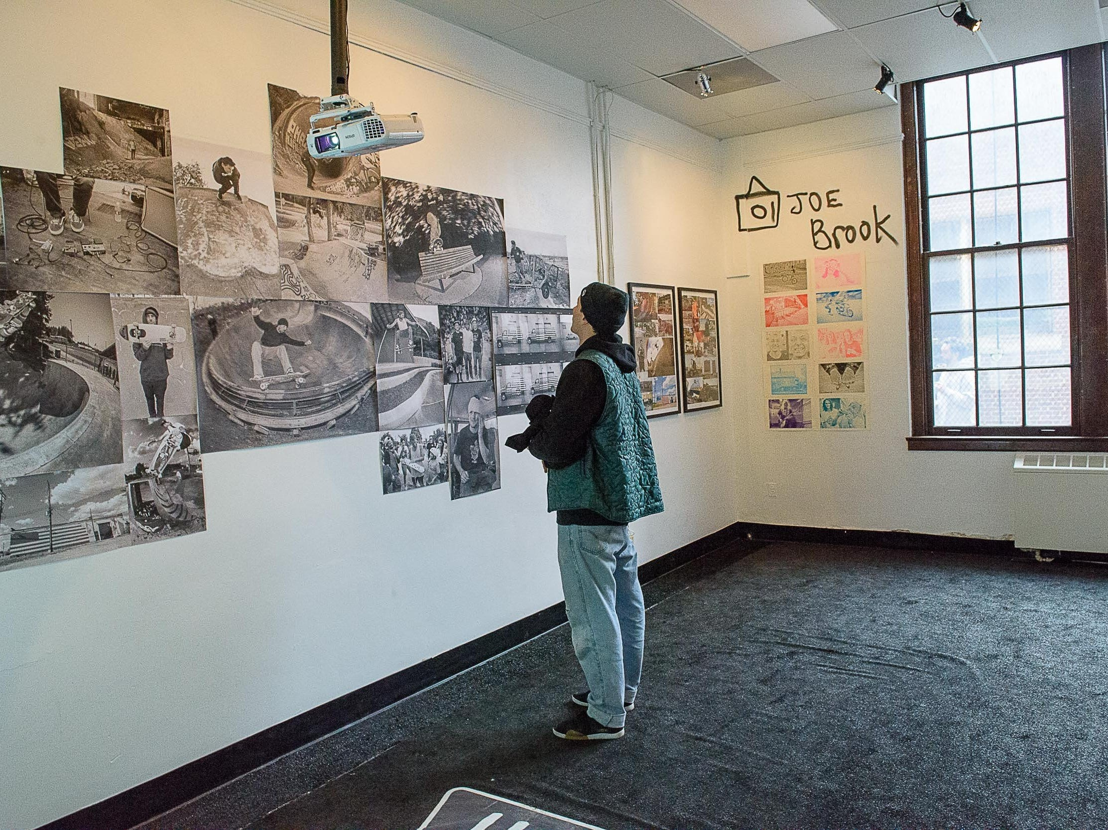 "The House of Vans brought its weekend long ""Off The Wall""  pop up to the former Jefferson school site Jan. 26, 2019. The four day event featured art installations, a photo show, a 'zine-making workshop, poster screen-printing classes and daily open skating."