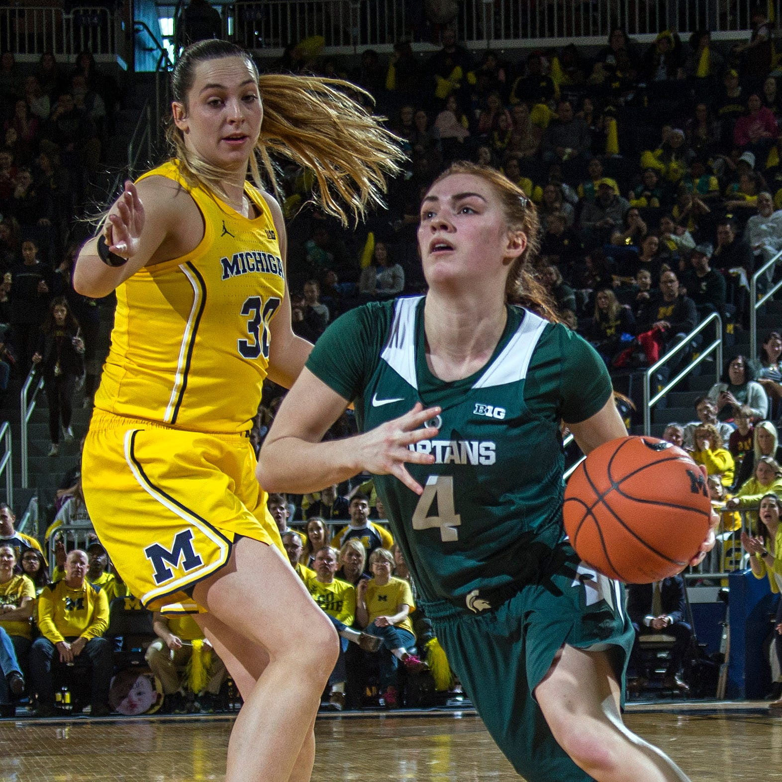 NCAA women's tournament: Michigan in, Michigan State vs. CMU at Notre Dame