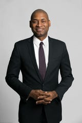 New York Times columnist Charles Blow spoke on Jan. 22 at Ruby Diamond Concert Hall.