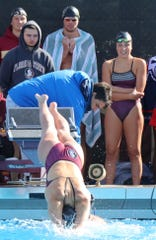 Florida State senior swimmer McKenna Keith competed in the 200-yard medley relay, 50-yard freestyle and 200-yard freestyle relay.