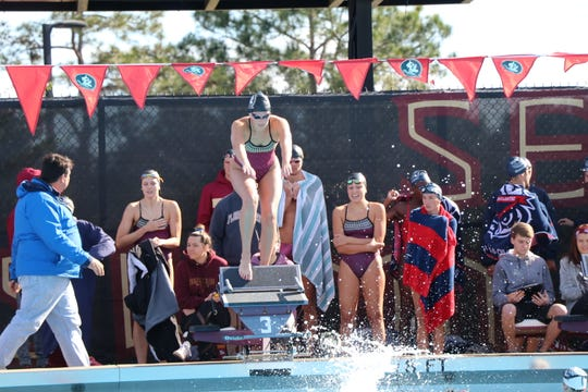 Florida State senior swimmer McKenna Keith returned to the pool for the first time in six months after overcoming a bout with Hodgkin's lymphoma.