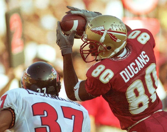 Former Florida State wide receiver Ron Dugans will be joining the Seminoles coaching staff.