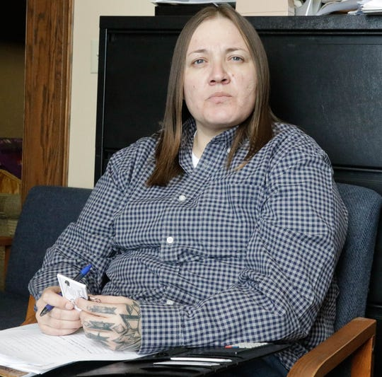 Brandi King, 38, is an army veteran and representing Montana's Fort Belknap Indian Reservation at the 66th Montana Legislature.