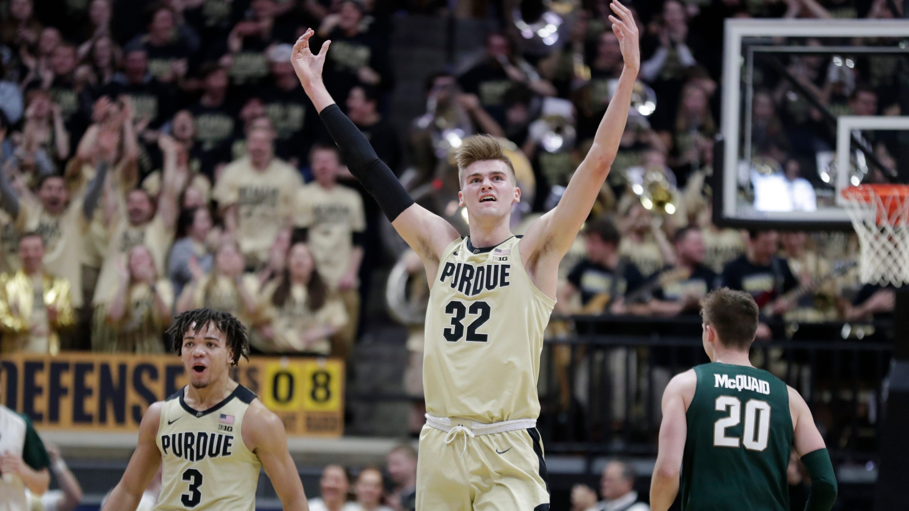 ddbf60b56d21 Purdue basketball finishes off victory over No. 6 Michigan State