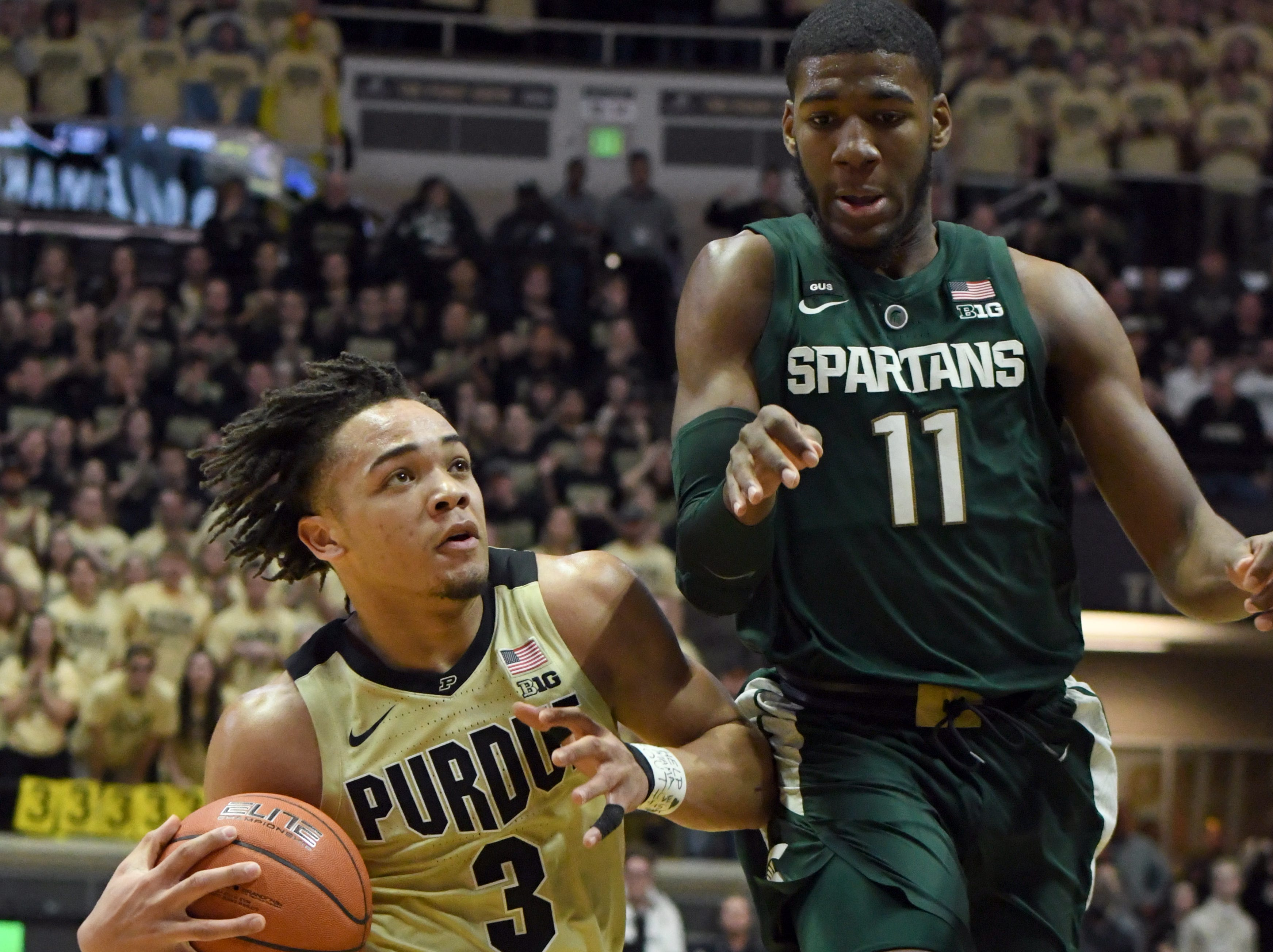 Carsen Edwards and the Boilermakers moved up to No. 17 in the latest AP poll.