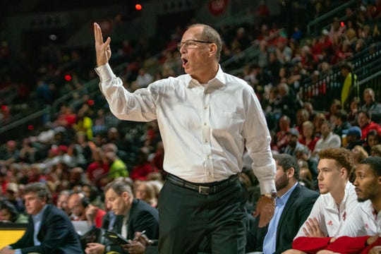 UL coach Bob Marlin's Cajuns took another double-digit loss on the East coast road trip.
